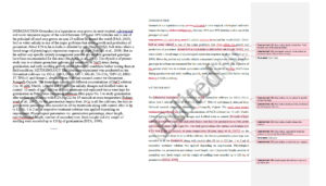 Scientific paper editing and proofreading