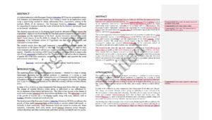 Scientific paper editing_Management