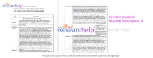 Verbatim Transcription services - Education Management